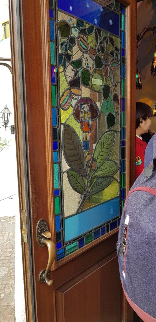 porte d'entrée du musée ghibli