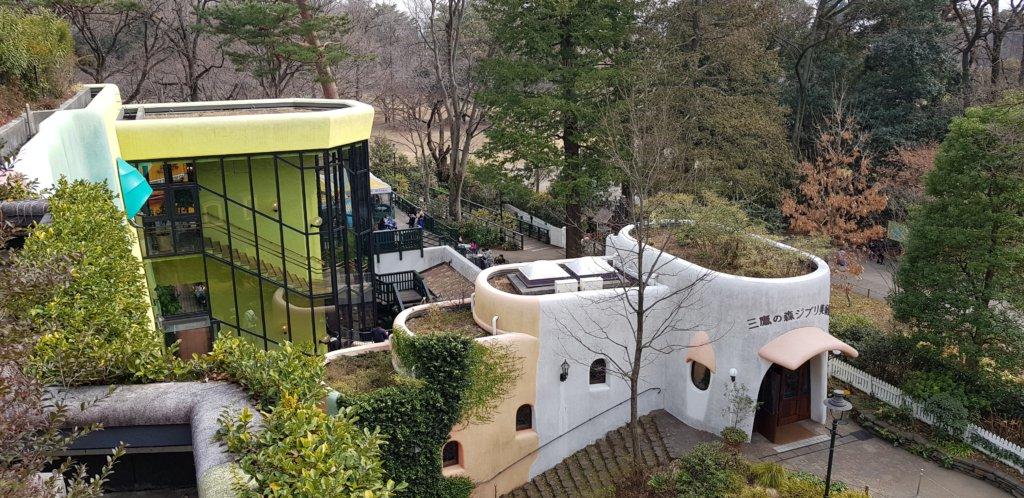 toits du musée ghibli