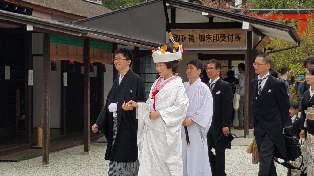 mariage Shimogamo jinja