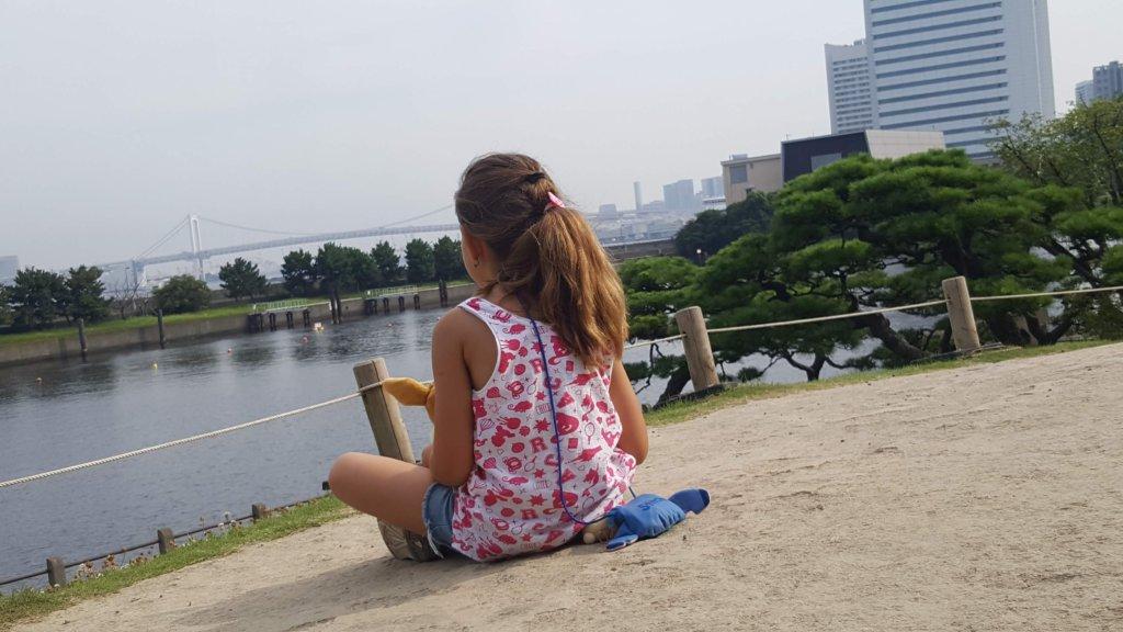 vue sue la baie de Tokyo