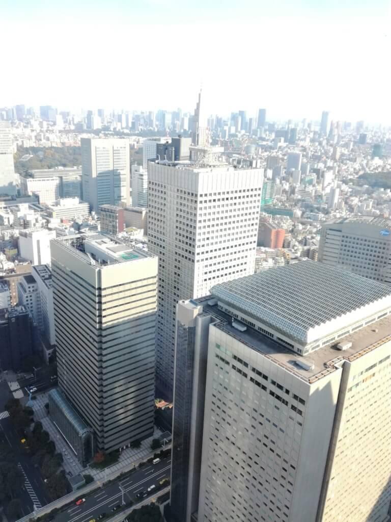 vue sur tokyo