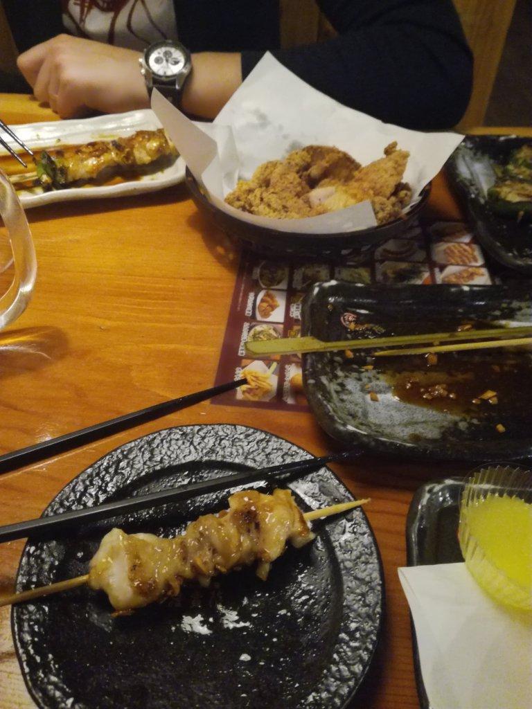 yakitori on partage