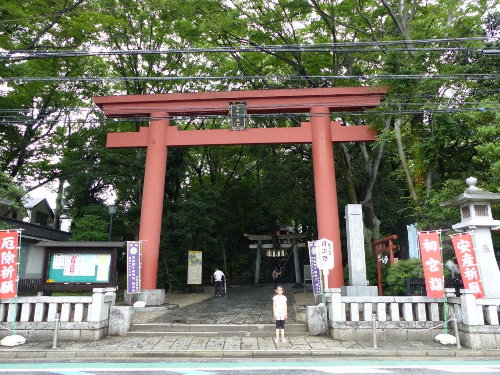 Le temple des Sumo Setagaya Hachiman