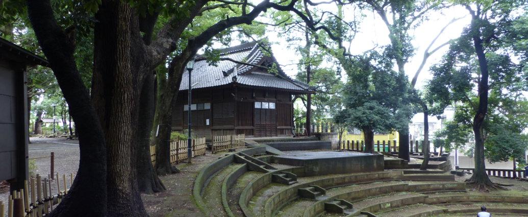 Le temple des Sumo Setagaya Hachiman Shrine