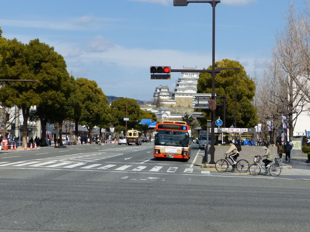 Arrivée a Himeji