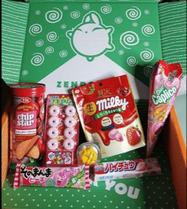 box friandises japon