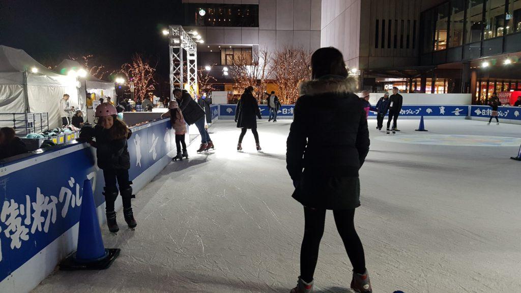 patin à glace à Tokyo