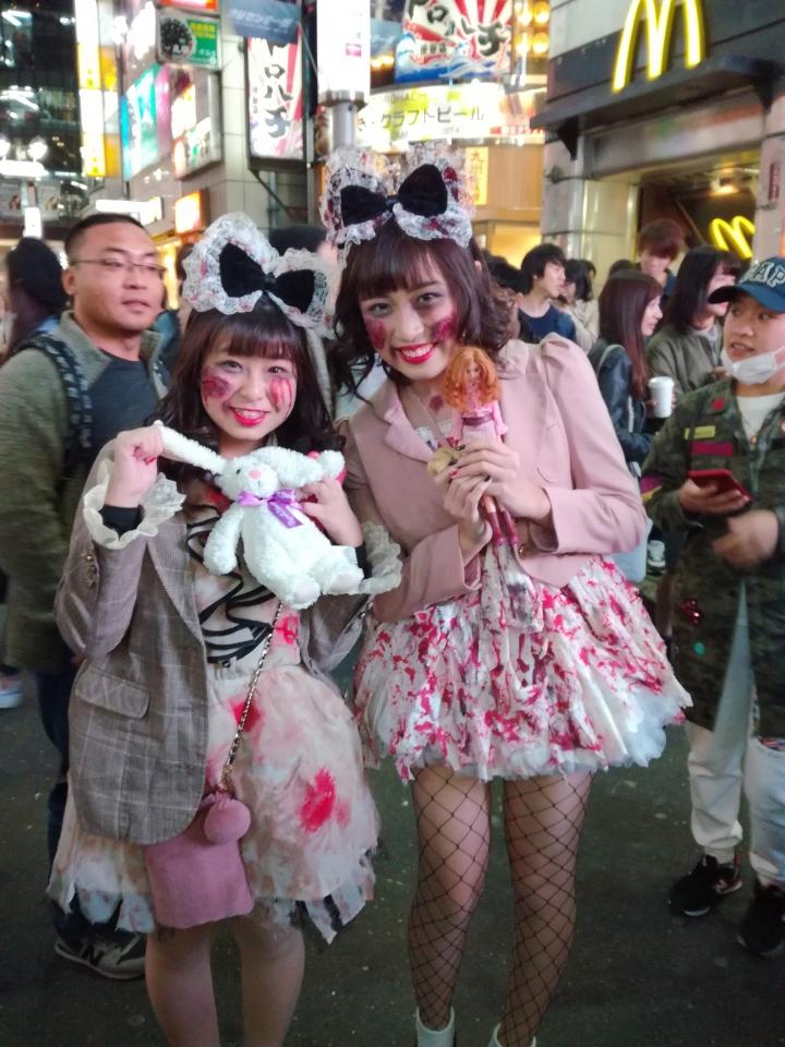 costume à Shibuya